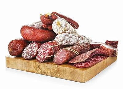 Budella per salami salsicce sopressa insaccati