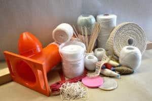 Spaghi corde reti tubi ed accessori per macelleria e industria alimentare a vicenza